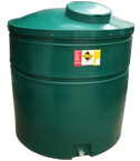 Ecosure Bunded Oil Tank 1070 Top Outlet