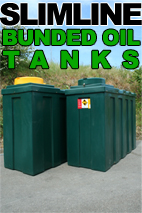 Slimline Bunded Fuel Oil Tank